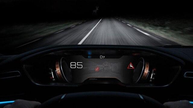 Новий седан Пежо 508: технологія нічного бачення