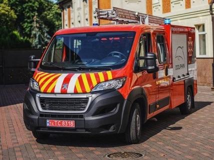 Boxer пожежні автомобілі першої допомоги peugeot