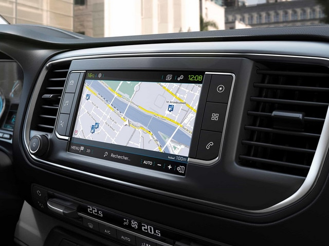 Peugeot Expert Display