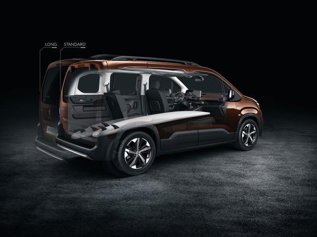 Peugeot Rifter об'єс багажника
